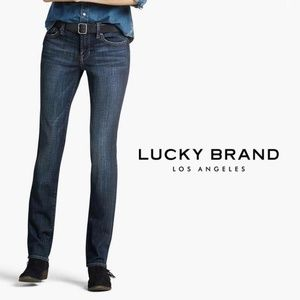 LUCKY BRAND Vintage Mid Rise Straight Jean